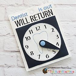 Pretend Play - ITH - Dentist Will Return Sign