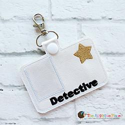 Pretend Play - ITH - Detective Badge ID Tag