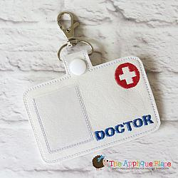 Pretend Play - ITH - Doctor Badge ID Tag
