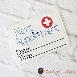 Pretend Play - ITH - Doctor Appointment Card