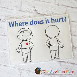 Pretend Play - ITH - Where Does it Hurt Chart