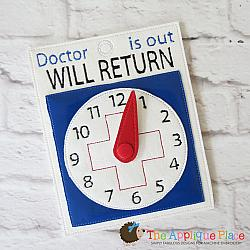 Pretend Play - ITH - Doctor Will Return Sign