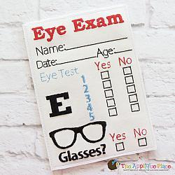 Pretend Play - ITH - Eye Exam Chart