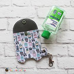 Case - Key Fob - 3 Oz Hand Sanitizer Case (Eyelet)