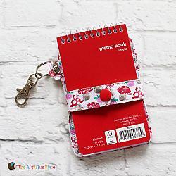 Notebook Holder - Key Fob - Snap Strap Notebook Case (Eyelet)