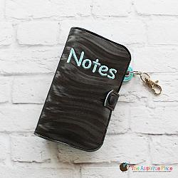 Key Fob - Notebook Case (Eyelet)