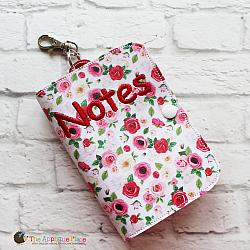 Key Fob - Notebook Case Top Spiral - 6x10 (Eyelet)