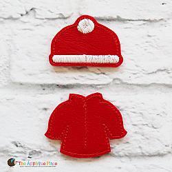 Feltie - Winter Coat and Hat