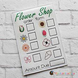 Pretend Play - ITH - Flower Order Form