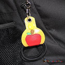 Hair Thing Holder - Key Fob - Apple