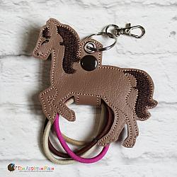 Hair Thing Holder - Key Fob - Horse