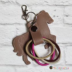 Hair Thing Holder - Key Fob - Horse