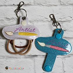 Hair Thing Holder - Key Fob - Artist