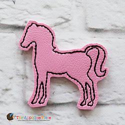 Feltie - Horse Silhouette