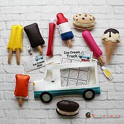 Pretend Play - ITH - Ice Cream Truck Set
