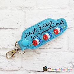 Key Fob - Just Keep Swimming