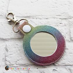 Key Fob - Mirror - 2 Inch Circle