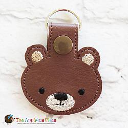 Key Fob - Bear Head
