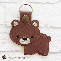 Key Fob - Brown Bear