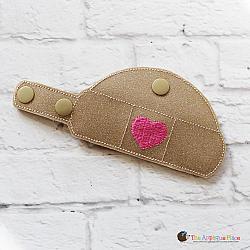 Case - Key Fob - Bandage Case - Heart (Snap Tab)