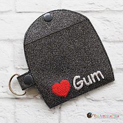 Case - Key Fob - Gum Case - Version 2 (Snap Tab)