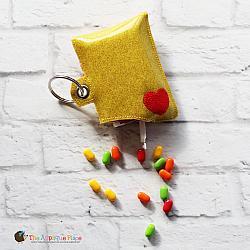 Case - Key Fob - Candy Dispenser Case (Eyelet)