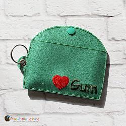 Case - Key Fob - Gum Case - Version 3 (Eyelet)