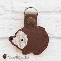 Key Fob - Hedgehog