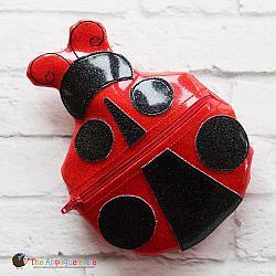 Bag - In the Hoop Ladybug Bag