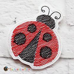 Puppet - Ladybug (finger size only)