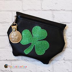 ITH - Leprechaun Pot Bag and Gold Coin Bag Tag
