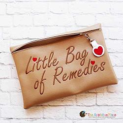ITH - Little Bag of Remedies Bag and Heart Bag Tag