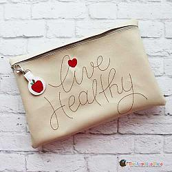 ITH - Live Healthy Bag and Apple Bag Tag