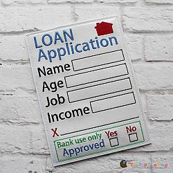 Pretend Play - ITH - Loan Application Form