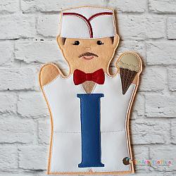 Puppet - I for Ice Cream Man - Long I