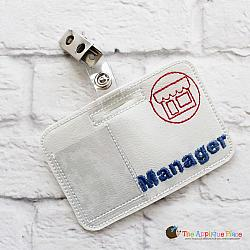Pretend Play - ITH - Manager Badge ID Tag