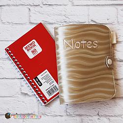 Notebook Holder - Notebook Case - Memo Book Cover - 4x6