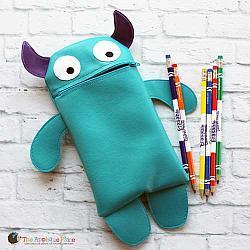 Bag - In the Hoop Cute Monster Bag