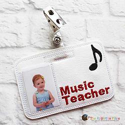 Pretend Play - ITH - Music Teacher Badge