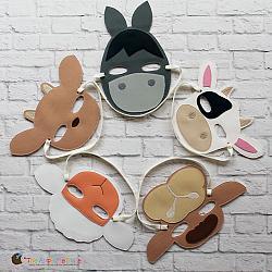 Masks - Nativity Set