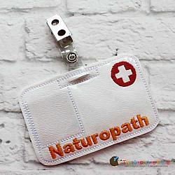 Pretend Play - ITH - Naturopath Badge ID Tag
