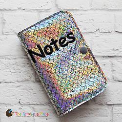 Notebook Holder - Notebook Case - Side Spiral - 6x10 (No Tab)