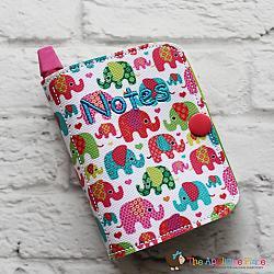 Notebook Holder - Notebook Case - Tiny - 5x7 (no tab)