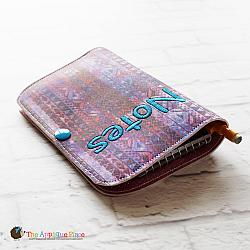 Notebook Holder - Notebook Case - Top Spiral and Pen - 6x10 (No Tab)