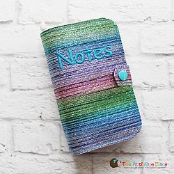 Notebook Holder - Notebook Case - Original - 6x10