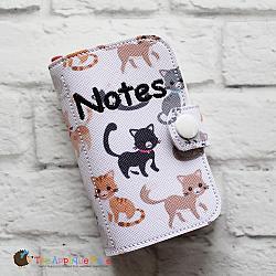 Notebook Holder - Notebook Case - Tiny - 5x7