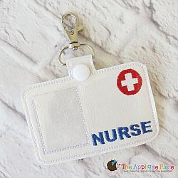 Pretend Play - ITH - Nurse Badge ID Tag