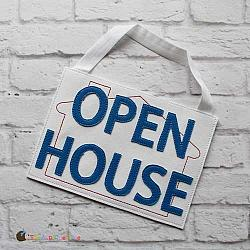 Pretend Play - ITH - Open House Sign