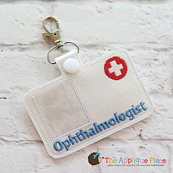 Pretend Play - ITH - Ophthalmologist Badge ID Tag