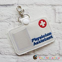 Pretend Play - ITH - Physician Assistant Badge ID Tag